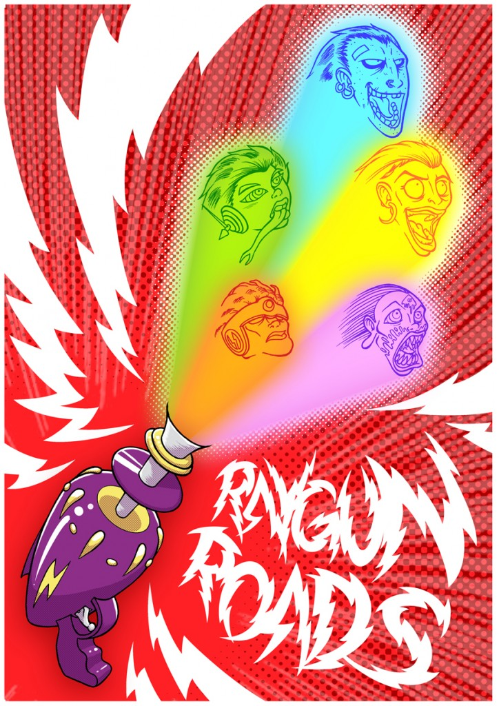 Animated Raygun Roads Poster